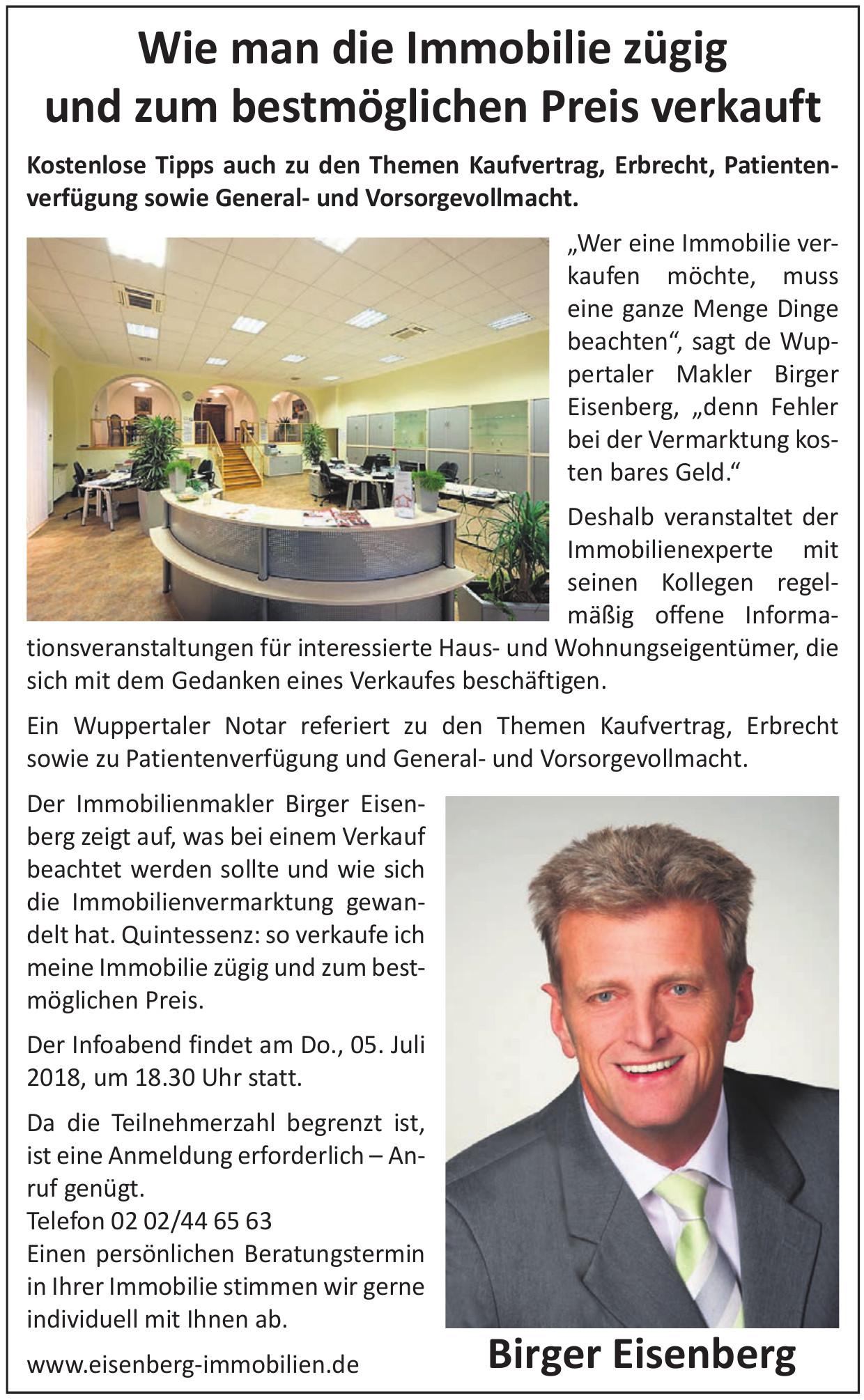 Birger Eisenberg Immobilien