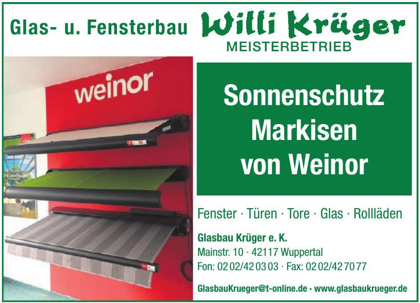 Glasbau Krüger e. K.