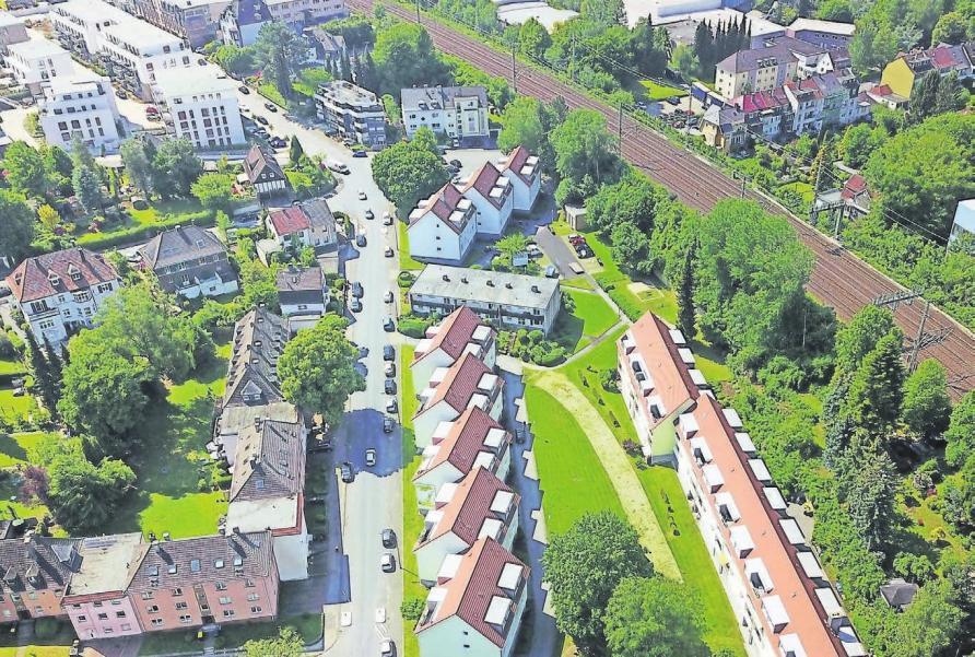 Mit Ende der Baumaßnahmen sind 20 neue Wohnungen an der Heinrich-Heine-Straße geschaffen worden.