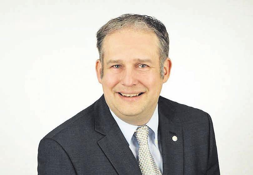 Marc Clemens, Obermeister der Wuppertaler Dachdecker-Innung.