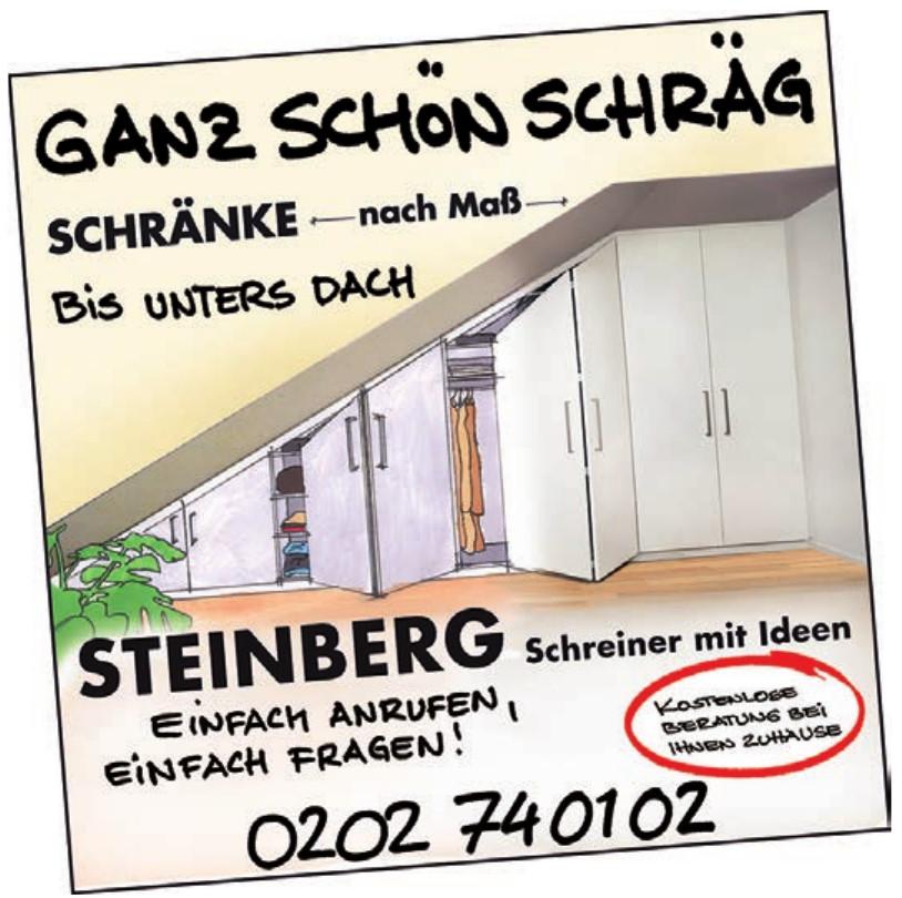 Steinberg Schreiner mit Ideen