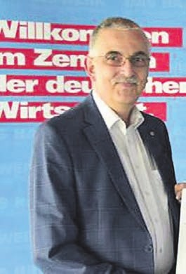Thomas Landsiedel, Obermeister der Wuppertaler Tischler-Innung