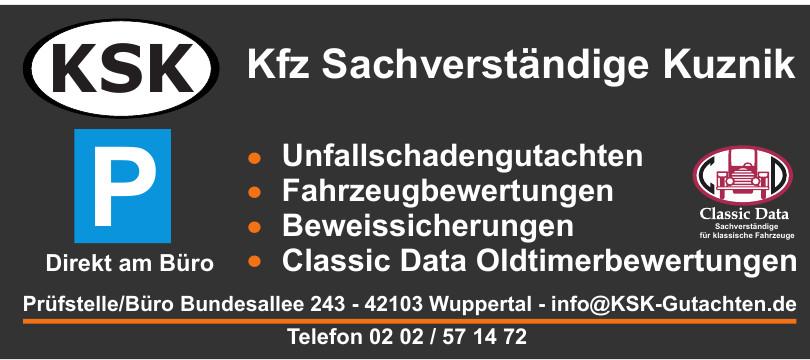 KSK Kfz Sachverständige Kuznik